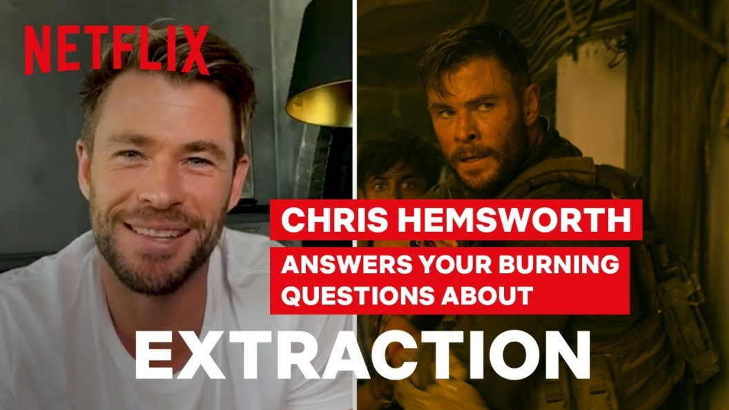 Extraction Chris Hemsworth Answers Your Burning Questions Comics2film