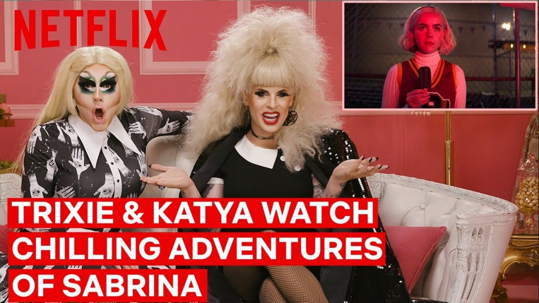 Chilling Adventures Of Sabrina Season 3 Drag Queens Trixie