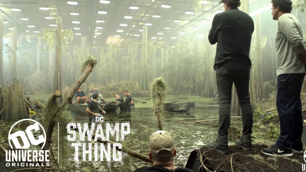 Go Behind the Scenes with the Cast and Crew of Swamp Thing