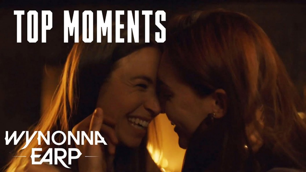 Wynonna Earp S4 E06 Clip Waverly And Nicole Are Engaged Comics2film Officer nicole haught is a capable, out police officer who knows what she wants, while waverly is only just discovering her bisexuality and working out how she wants to deal with that. wynonna earp s4 e06 clip waverly